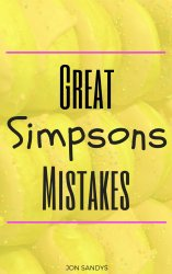 Great Simpsons Mistakes cover