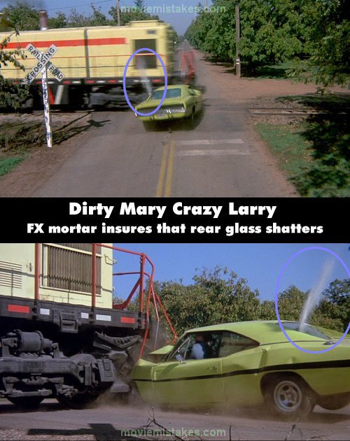 Dirty Mary Crazy Larry Movie Mistake Picture 11