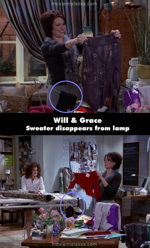 Will & Grace mistake picture