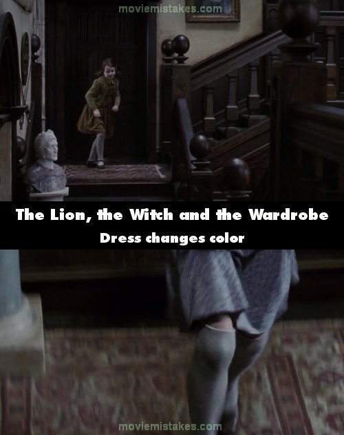 The Chronicles of Narnia: The Lion, the Witch and the Wardrobe mistake picture