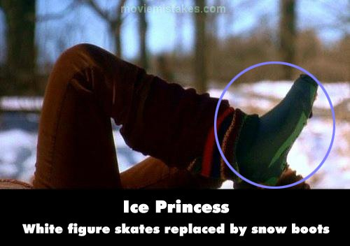 Ice Princess mistake picture