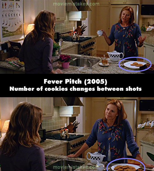 Fever Pitch mistake picture