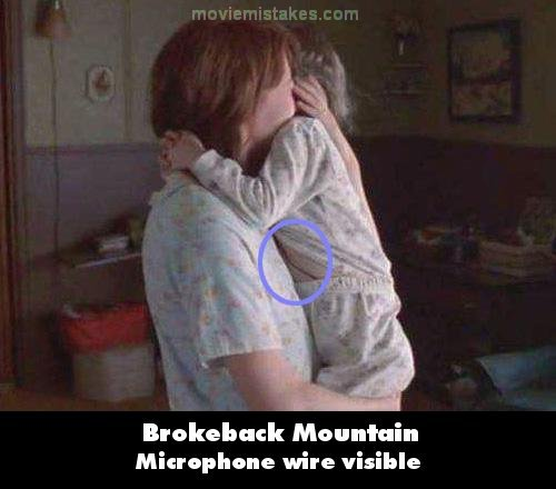 Mistake screenshot & Brokeback Mountain (2005) movie mistakes goofs and bloopers