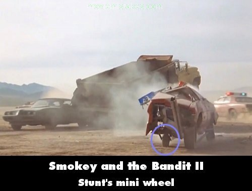 Smokey and the Bandit II mistake picture