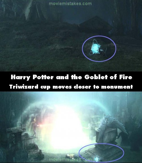 Harry Potter and the Goblet of Fire mistake picture