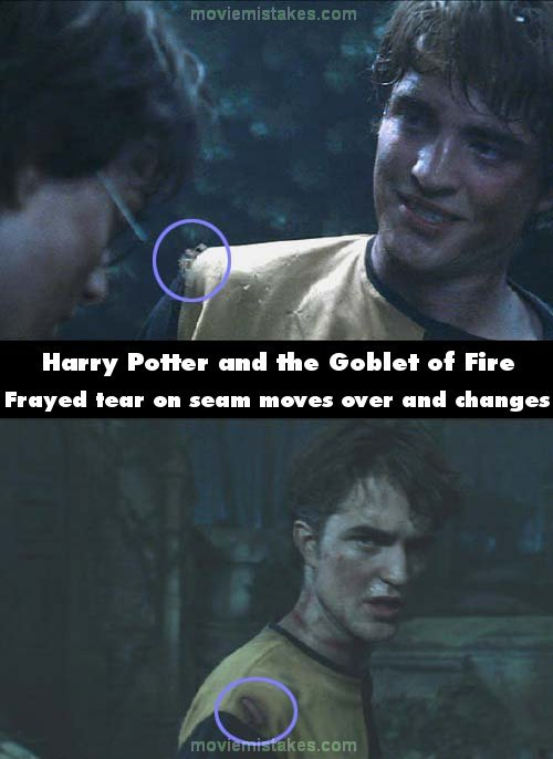 Harry Potter And The Goblet Of Fire 2005 Movie Mistake Picture Id 105513