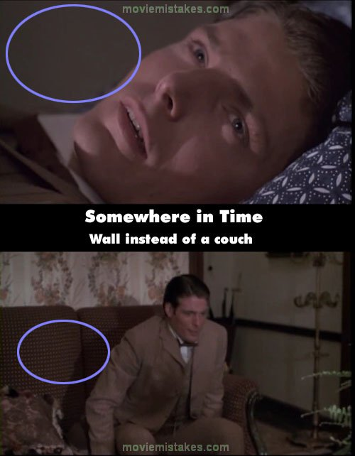 Somewhere In Time mistake picture