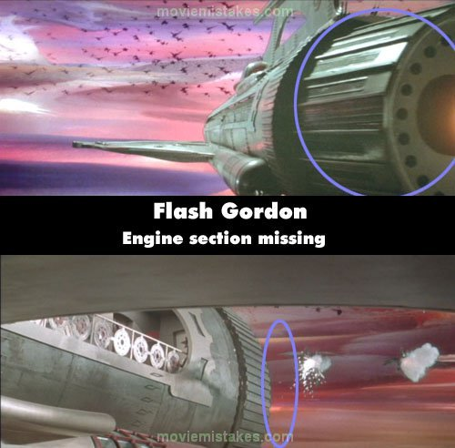 Flash Gordon mistake picture
