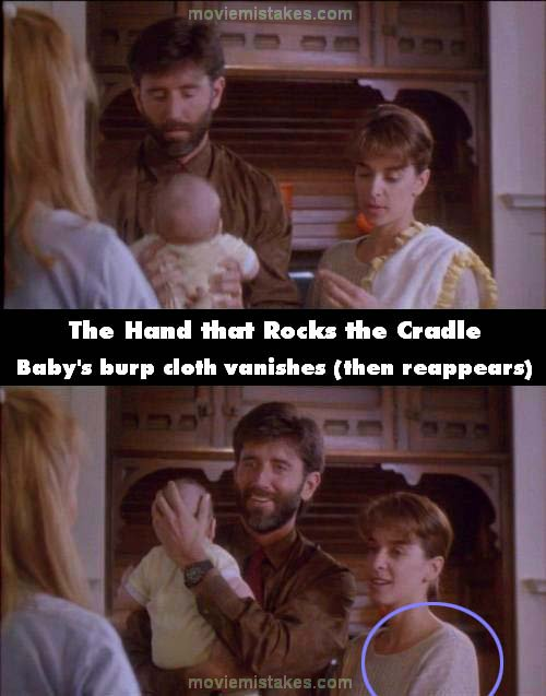 The Hand that Rocks the Cradle mistake picture