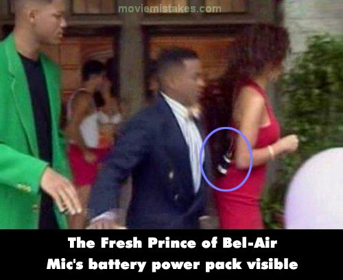 The Fresh Prince of Bel-Air mistake picture