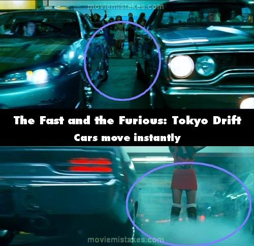 The Fast And The Furious: Tokyo Drift (2006) Movie Mistake