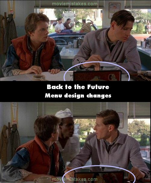 Back To The Future 1985 Movie Mistake Picture Id 11184
