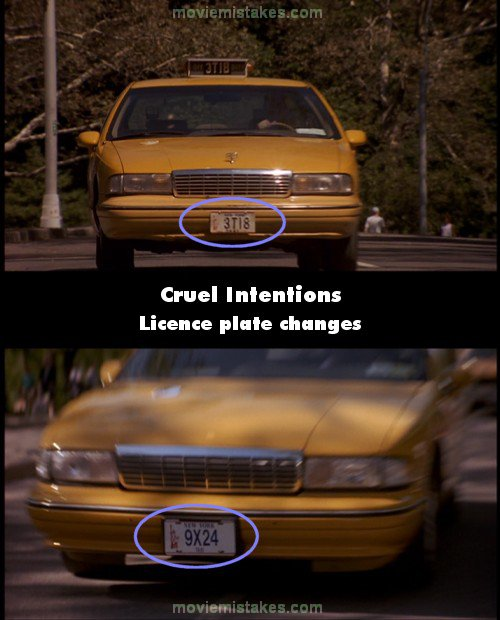 Cruel Intentions mistake picture