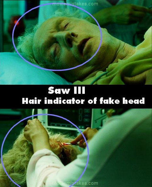 Saw III (2006) movie mistake picture (ID 114102)