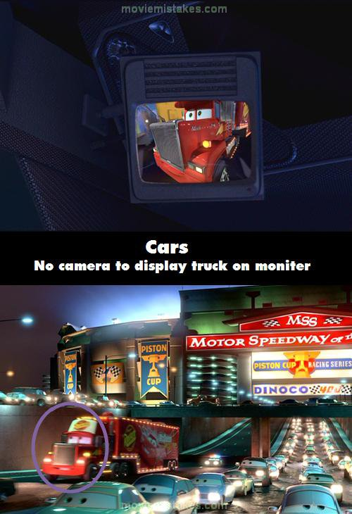 Cars mistake picture