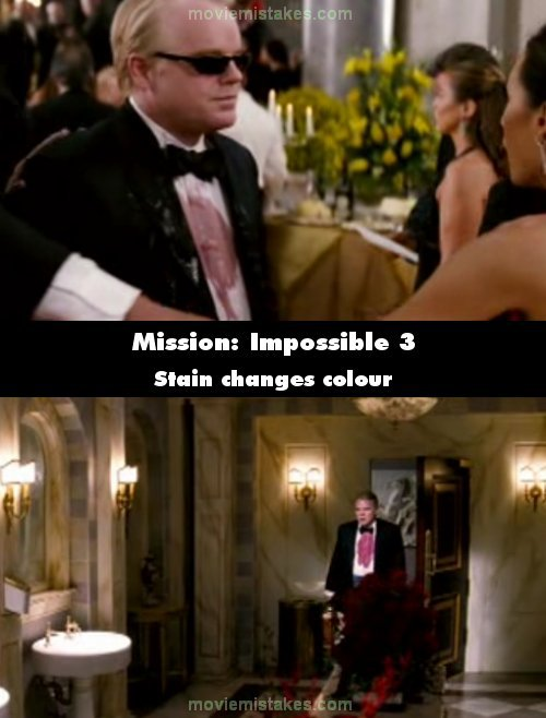 Mission: Impossible 3 (2006) movie mistake picture (ID 114933)