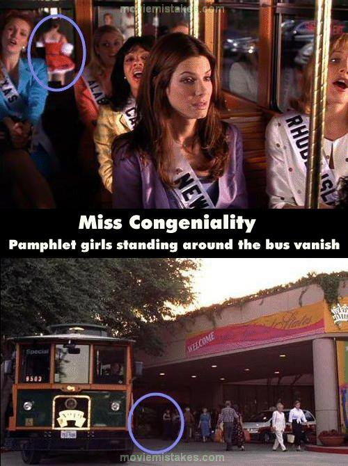Miss Congeniality 2000 Movie Mistake Picture Id 11624