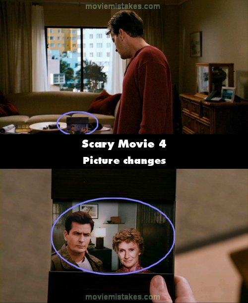 Scary Movie 4 mistake picture