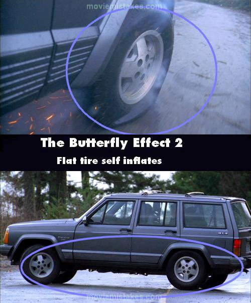 The Butterfly Effect 2 mistake picture