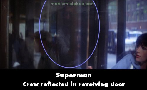 Superman mistake picture