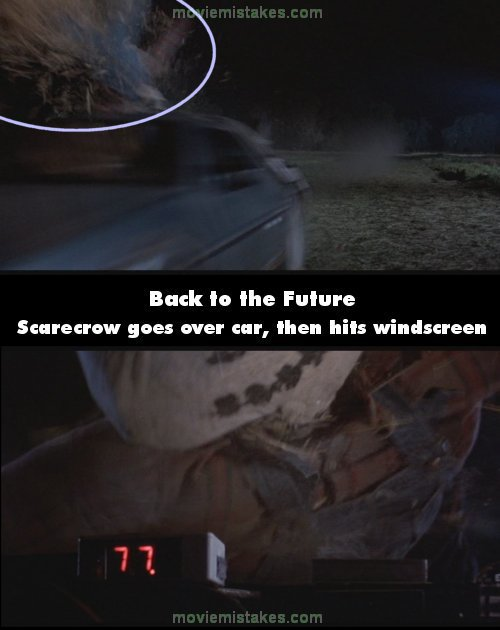 Back to the Future mistake picture
