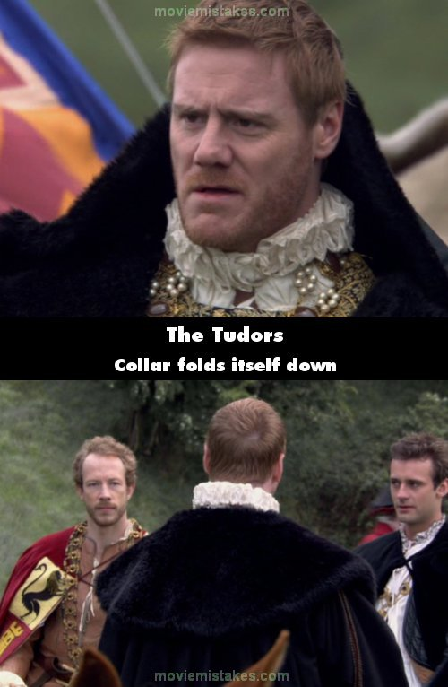 The Tudors mistake picture