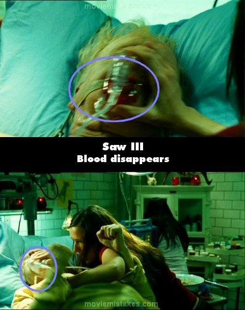 Saw III (2006) movie mistake picture (ID 122027)