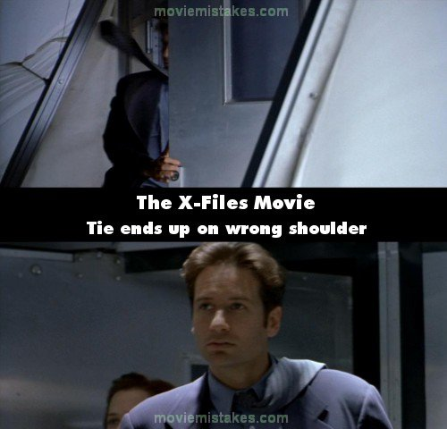 The X-Files Movie mistake picture