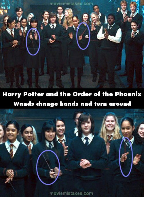 Harry Potter And The Order Of The Phoenix 2007 Movie Mistake