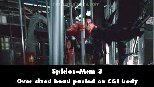 spiderman 3 2007 movie mistake picture id 125413