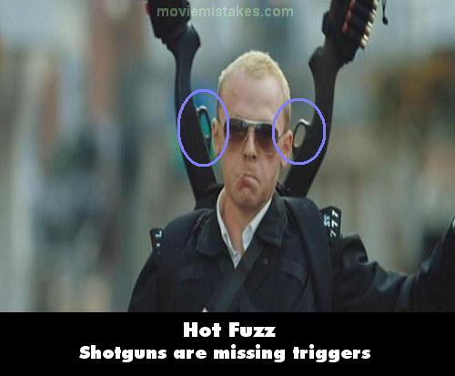 Hot Fuzz mistake picture