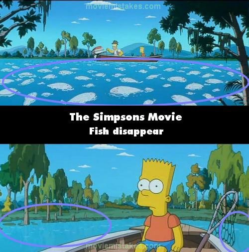 The Simpsons Movie 2007 Movie Mistake Picture Id 126164