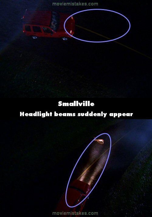 Smallville mistake picture