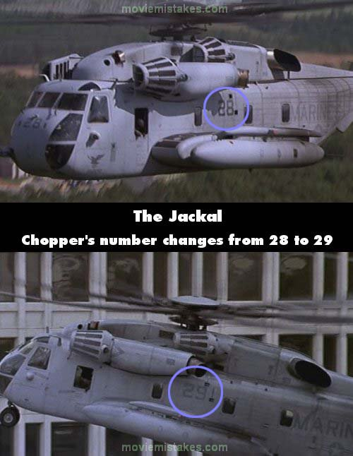 The Jackal mistake picture