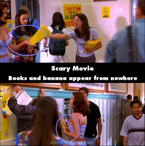 Scary Movie mistake picture