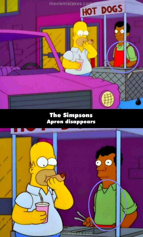 Homer Simpson Hot Dog Vendor