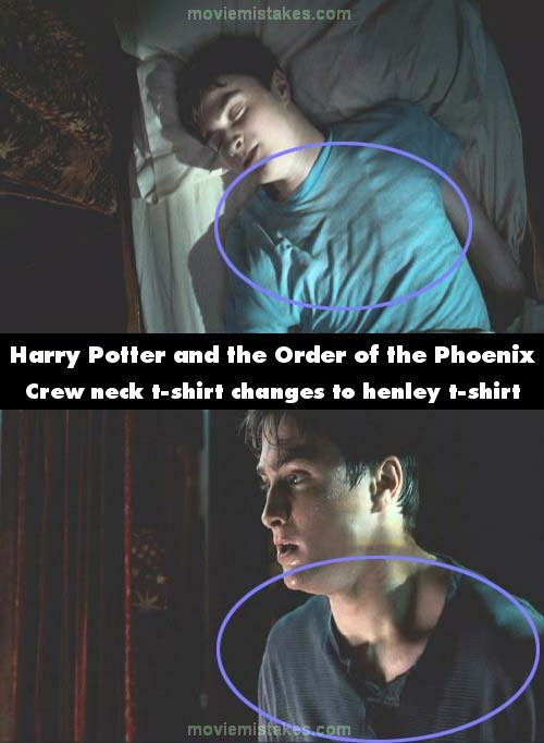 Harry Potter and the Order of the Phoenix mistake picture