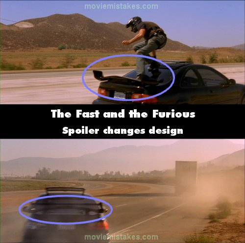 The Fast and the Furious mistake picture