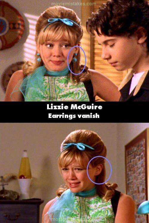 Lizzie McGuire mistake picture