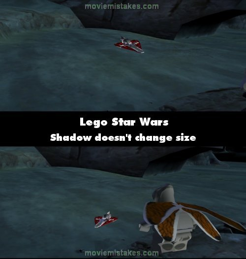 Lego Star Wars mistake picture