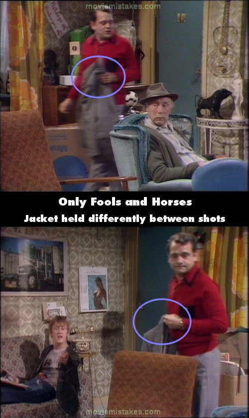 Only Fools and Horses mistake picture