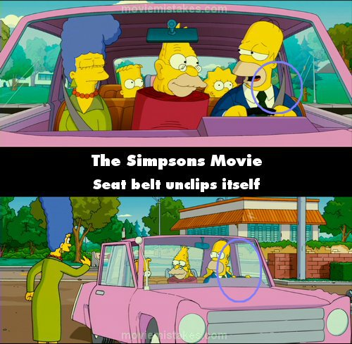 The Simpsons Movie 2007 Movie Mistake Picture Id 135681