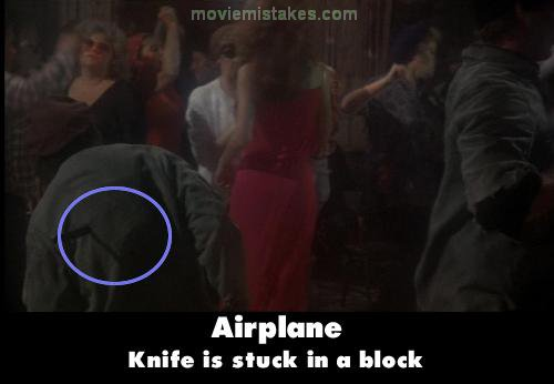 Airplane mistake picture