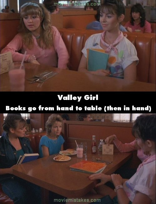 Valley Girl mistake picture