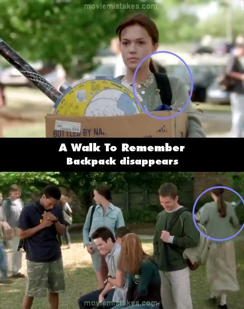 A Walk To Remember mistake picture