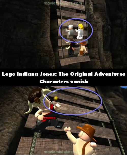 Lego Indiana Jones: The Original Adventures mistake picture