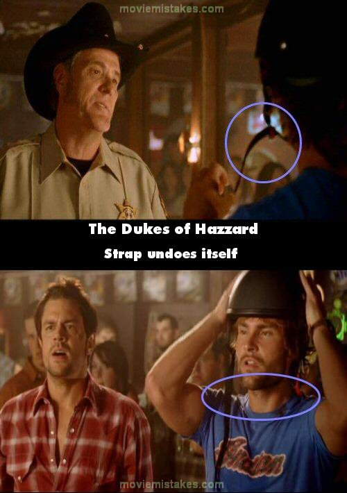 The Dukes Of Hazzard 2005 Movie Mistakes Goofs And Bloopers
