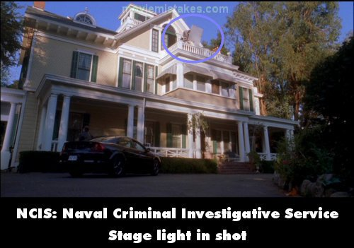 NCIS: Naval Criminal Investigative Service mistake picture
