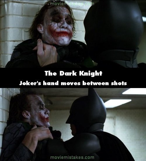 The Dark Knight mistake picture