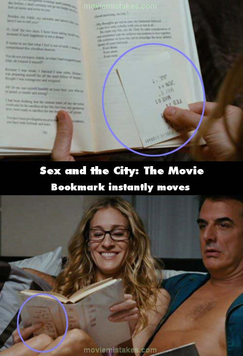 Sex and the City: The Movie mistake picture